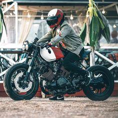"""Mi piace"": 2,535, commenti: 2 - CAFE RACER caferacergram (@caferacergram) su Instagram: ""⛽️ Fueled by @rebelsocial | TAG: #caferacergram | @bolshakov_sergei's Yamaha XV750 Virago | Photo…"""