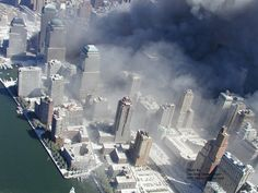 9/11 aftermath, total environmental disaster of its own.