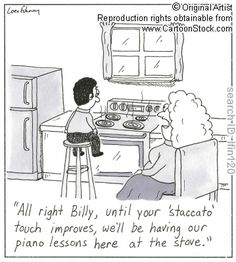 Oh my! I'm glad I didn't have a piano teacher like this!