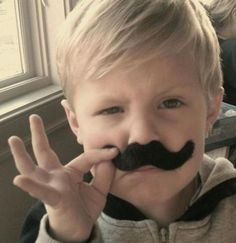 mustaches for all ages