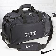 0f29a15c3178 Personalized Gym Duffel Bag - Nike - Monogram - Men s Gifts Nike Gym Bag