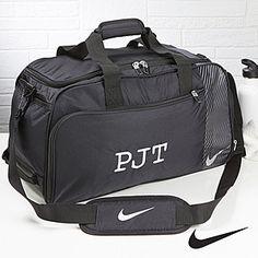 Personalized Gym Duffel Bag - Nike - Monogram - Men's Gifts