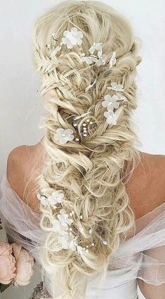Lovely Fishtail mermaid hairstyle.