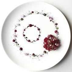 """5,045 vind-ik-leuks, 24 reacties - World's Finest Food Plating (@gourmetartistry) op Instagram: '""""Beetroot Tartar"""" Beautiful work of art by @royalebrat #GourmetArtistry'"""
