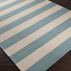 Rain Stripe Rug Parchment Rug