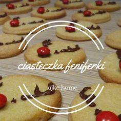 kruche ciastka renifery, reniferki, przepis Gingerbread Cookies, Breakfast, Cake, Desserts, Food, Pie Cake, Tailgate Desserts, Pastel, Meal