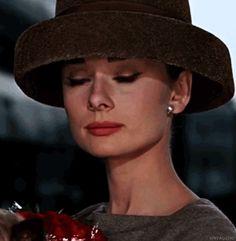 Audrey Hepburn, 1957 - gif