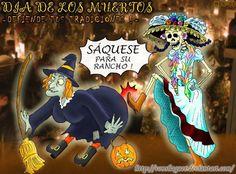 halloween, dia de muertos caricaturas | Pues Qe decir todo mundo celebra el Halloween sin saber que onda con ...