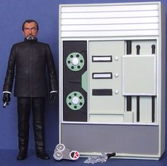 54. The Master (with Computer Bank as TARDIS, TCE Device, Crystal of Kronos and the Doctor's time sensory device)