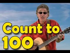 A new count to 100 song and video. A slow calming melody with each number said clearly and with the number large on screen. Counting Songs, Math Songs, Counting To 100, Kindergarten Songs, 100 Songs, Preschool Songs, Jack Hartmann, Number Song, School Videos