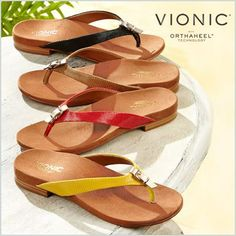 Say hello to the Lima thong sandal – NEW from Vionic! Shop here