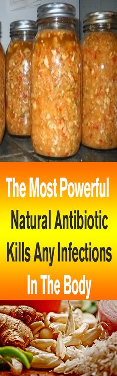 The Most Powerful Natural Antibiotic Kills Any Infections In The Body – Let's Tallk