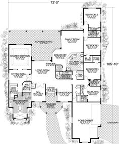 Grand Covered Entry - 32190AA | Architectural Designs - House Plans