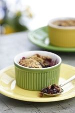 Diabetic Friendly Old-Fashioned Fruit Crumble