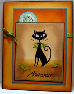 Stampin' Up! Cool Cat. Autumn Cool Cat