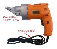 14 Gauge Electric Shear Metal Cutting Tool 2500 RPM by Generic. $52.99. Variable speed switch 0 - 2,500RPM. Powerful 120V / 60Hz 4.0 AMP. Electric Hand Shear. Cuts up to 14 gauge mild steel and 18 gauge stainless steel. Head swivels 360°. ? Electric Hand Shear ? Powerful 120V / 60Hz 4.0 AMP ? Cuts up to 14 gauge mild steel and 18 gauge stainless steel ? Variable speed switch 0 - 2,500RPM ? Head swivels 360°