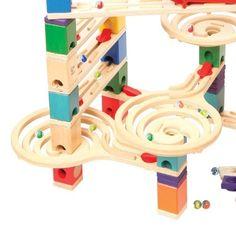 Hape E6009 - Quadrilla Vertigo, Kugelbahn aus Holz