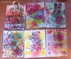 sac-mix-media-MS Mix Media, Mixed Media Art, Medium Art, Ms, Paper, Artwork, Painting, Log Projects, Father's Day