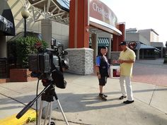 """WCHS & WVAH TV """"Hope in Oklahoma"""" boot drive #OKstrong May 30, 2013 Photographer Bob Frank and @patmcmurtryWCHS ready to go"""