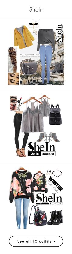 """SheIn"" by guelcan-1 ❤ liked on Polyvore featuring New Look, BOSS Hugo Boss, NARS Cosmetics, Ilia, Swarovski, Chanel, Elizabeth Arden, Estée Lauder, Miadora and Sergio Rossi"