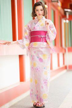 INGNI(イング)桜紋/浴衣