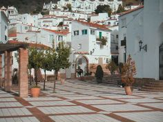 Genalguacil, square in the centre of this Spanish village
