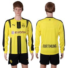 http://www.xjersey.com/201617-dortmund-home-long-sleeve-home-soccer-jersey.html 2016-17 DORTMUND HOME LONG SLEEVE HOME SOCCER JERSEY Only $35.00 , Free Shipping!