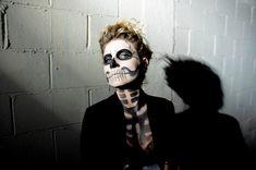 Mr. Kate | DIWhyNot: Stylish Skeleton Makeup
