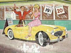1963 Barbie puzzle from the collection of Julia McLaughlin