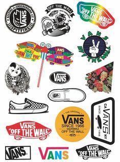 Vans Stickers Laptop Sticker Suitcase Sticker Skateboard Stickers Dec - Laptop - Ideas of Laptop - Vans Stickers Laptop Sticker Suitcase Sticker Skateboard Stickers Decorative Sticker Gif Tumblr Stickers, Phone Stickers, Cool Stickers, Printable Stickers, Vans Skateboard, Penny Skateboard, Skateboard Parts, Suitcase Stickers, Decoration Stickers