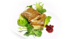Gebackener Camembert Alfons Schuhbeck Tuna, Snacks, Fish, Chicken, Meat, Baked Camembert, Cooking School, Cooking