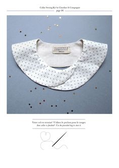 #DIY - Collar Sewing Kit - Claudine & Compagnie (with step by step instructions)