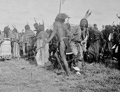 Crow Dance, Oklahoma Cheyenne & Arapaho Reservation 1893