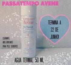 Must Be...Pink!: Passatempo Avéne - Eau Thermal