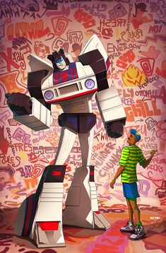 Autobot Jazz and the Fresh Prince Created by Marco d'alfonso Website||DeviantArt||Tumblr