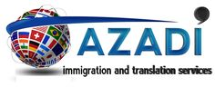 We at Azadi Translation Services provide complete solution to all of your immigration and translation requirements. Contact us for the certified translation services. our online translators can guide you through the process, so you will have easy, and fast turn around time! http://aztranslator.com #Translation_&_immigration_service #certified_translation