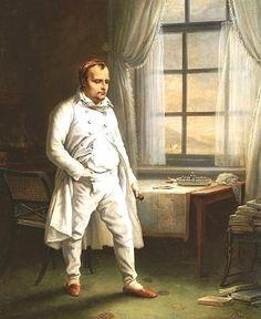 Napoleon on St Helena, by Charles Von Steuben