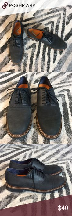 Cole Haan men's oxfords These are a great pair of shoes! Very gently used!! Has Nike air sole, and also has Merrell continuum air coshion inserts makes them even more comfy . Cole Haan Shoes Oxfords & Derbys