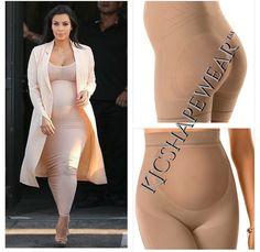 Kim Kardashian West's Pregnancy Style Secret Revealed. Pregnancy Shapewear by KJCOUTURE. Click Pic to purchase