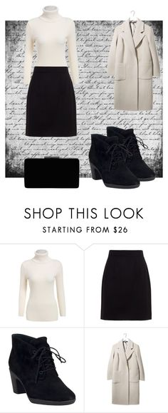 """Work !"" by amilasahbazovic ❤ liked on Polyvore featuring beauty, Dolce&Gabbana, Clarks, Boutique and John Lewis"