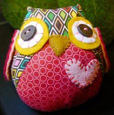 Stuffed Owl Tutorial - Just Imagine - Daily Dose of Creativity