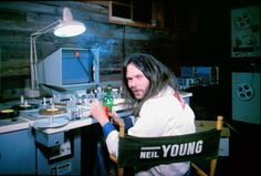 Neil Young in the Journey Through The Past trailer