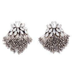 BIMBA Y LOLA Crystal maxi-earrings