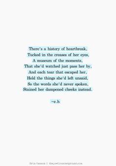 history of heartbreak