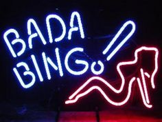 Everybody's favorite club. Bada Bing!