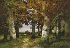 Kaufmann, Adolf - Woodland Landscape | Flickr - Photo Sharing!