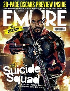 Portada de Will Smith para 'Escuadron suicida'