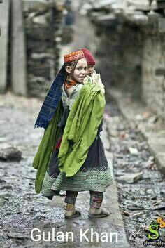 Cute baby, Gilgit Baltistan Pakistan