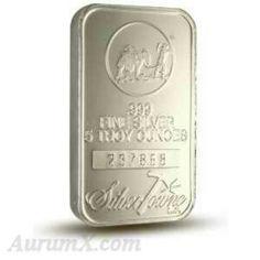 Silvertowne. 5oz .999  Fine silver bar