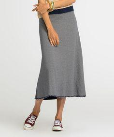 Another great find on #zulily! South Beach Blue Fireside Maxi Skirt #zulilyfinds
